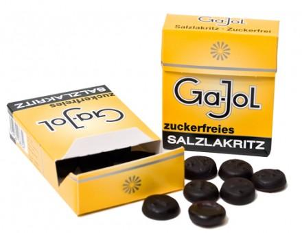 Gajol zuckerfreies Salzlakritz