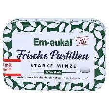 Em Eukal Frische Pastillen Starke Minze zuckerfrei - extra stark